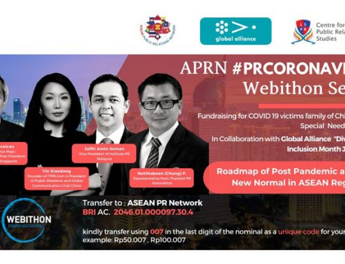 #PRCORONAVIRUS: Roadmap of Post Pandemic and  The New Normal in ASEAN Region